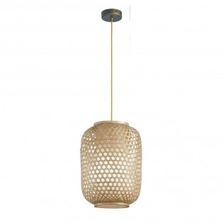 Bamboo Hanging Light Zen