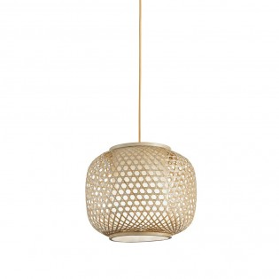 Bamboo Pendant Light Zen