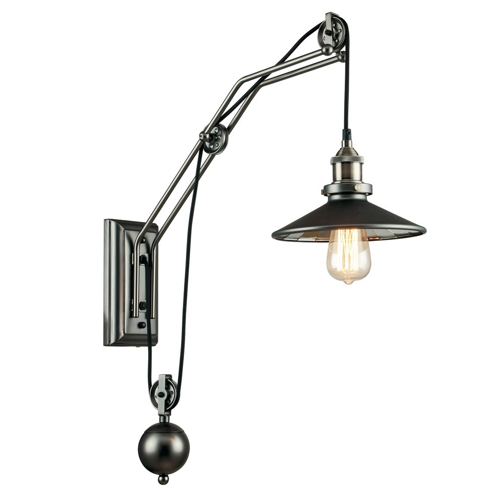 Wall Sconce With Pulley Arkita Fan Europe Wonderlamp Shop