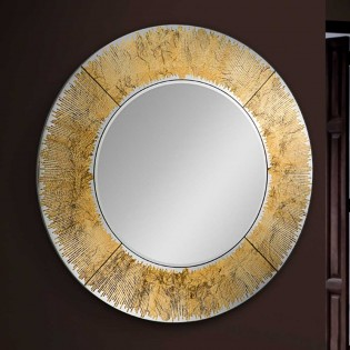 Wall Mirror Aurora II (100x100)