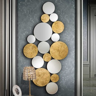Decorative Wall Mirror Cirze (120x59)