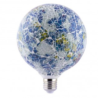 Decorative LED Bulb Tiffany E27 4W (Blue)
