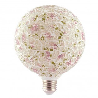 Decorative LED Bulb Tiffany E27 4W (Pink)