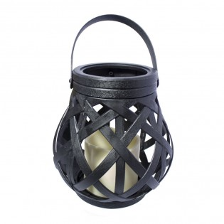 Candle with decorative light Cauldron