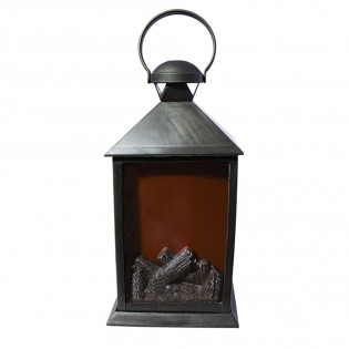 Decorative Lantern with light fire effect