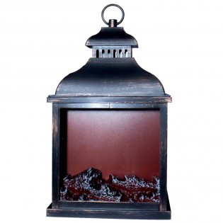 Decorative Lantern with light fire effect II