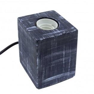 Base with lampholder E27 Cement (dark grey)