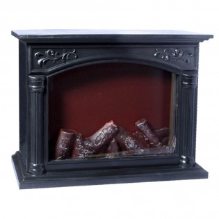 Fireplace with fire effect light II