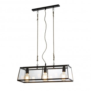 3 Light Bar Pendant Ceiling Light Aquila