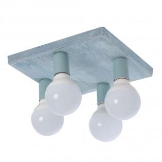 Plafón de techo Dalila (4 luces)