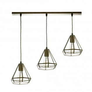 Pendant Track Light Nabila (3 lights)