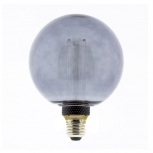 LED Light Bulb G125 Globe Smoke Effect (4W)