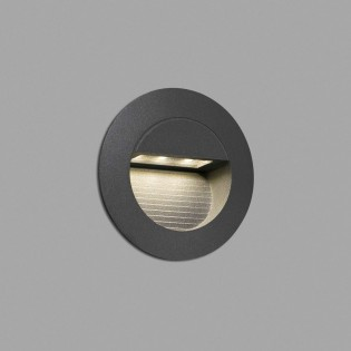 Outdoor LED Wall Recessed Light Mini Racing (1,2W)