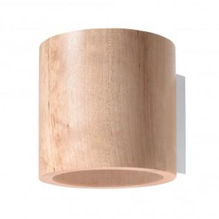 Wall Lamp Orbis Wood