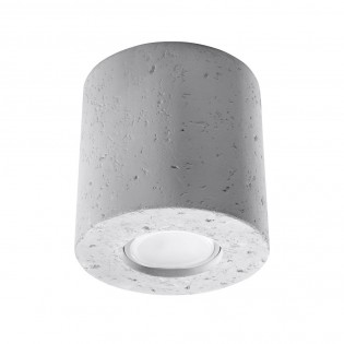 Flush Light Orbis Concrete