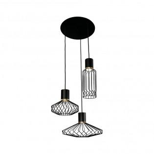 3 Lights Cluster Pendant Lamp Pico