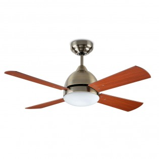 Ceiling fan with light Borneo II