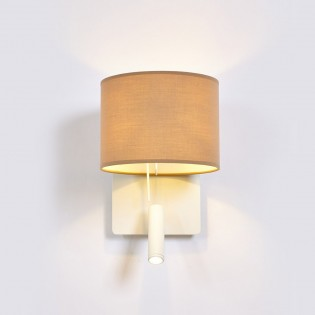 Wall Lamp with LED Reader Rum (3W)