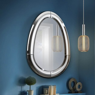 Wall Mirror Curves V (115x80)