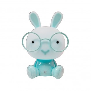 Children's night lamp Blue Bunny