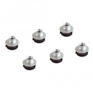 Pack 6 x Adjustable LED Recessed Light Polaris (1.2W)