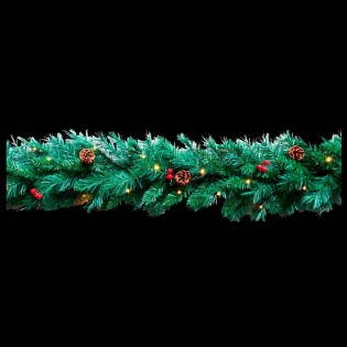 LED Christmas tinsel (30 lights)