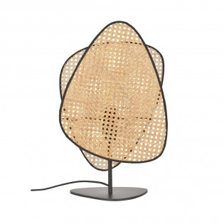 Table Lamp Screen Cannage Natural