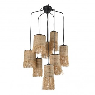 Pendant Lamp Formentera (8 lumieres)