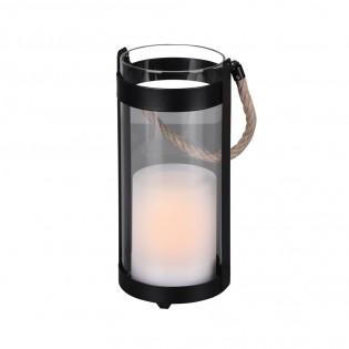 Lámpara de mesa LED efecto vela Minas