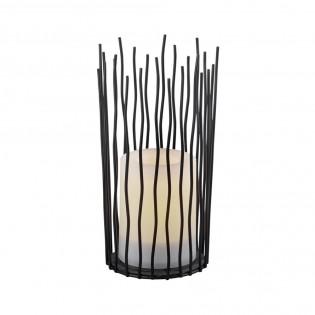 Lámpara de mesa LED efecto vela Coro