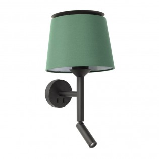 Wall Lamp with LED reader Savoy (3W)