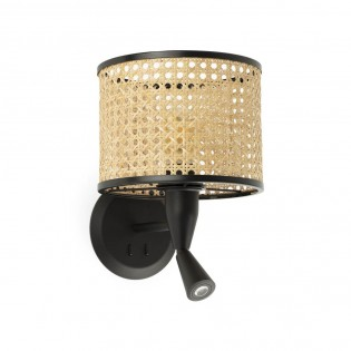 Wall Lamp with LED reader Mambo (3W)