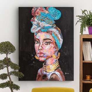 Acrylic painting Caribe