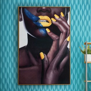 Acrylic painting Orisa