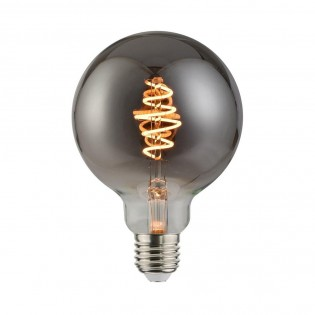 Bombilla LED E27 G95 Efecto Fumé (5W)