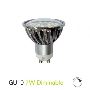 Light bulb led 7W GU10 (dimmable)