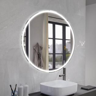 Mirror with LED light Mia Round (100 cm.)