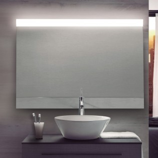 Mirror with LED light Deva II
