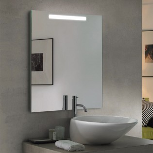 Mirror with LED light Edel