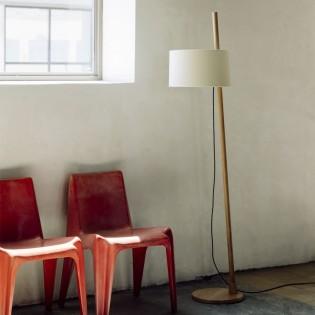 Floor lamp Linood by Milan Iluminacion. Made in Barcelona.