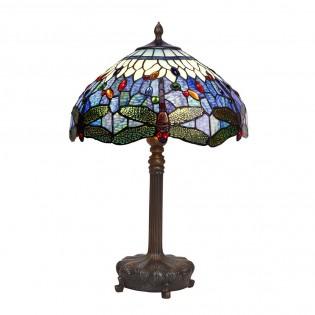 Lámpara de sobremesa Belle Epoque cristal Tiffany