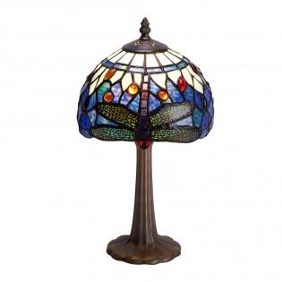 Lámpara de mesa con cristal Tiffany Belle Epoque