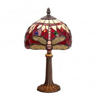 Lámpara de mesa Belle Rouge Tiffany
