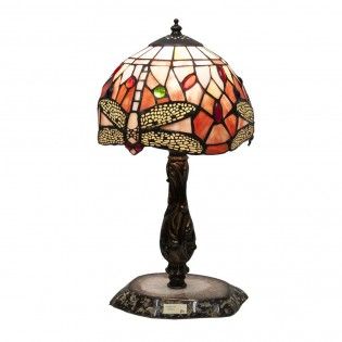 Lámpara de sobremesa Belle Rouge Tiffany