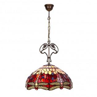 Lámpara de techo Belle Rougue Tiffany II