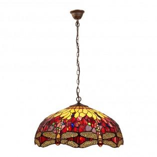 Lámpara colgante Belle Rougue Tiffany II