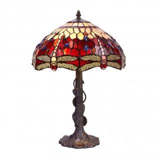 Lámpara de mesa Belle Rouge Tiffany II