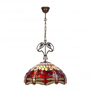 Lámpara de techo cristal Tiffany Belle Epoque
