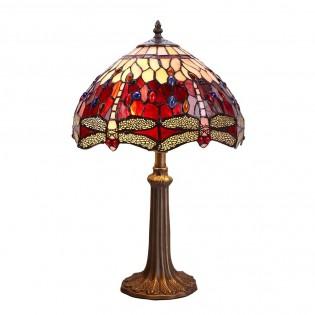 Lámpara de sobremesa Belle Rouge Tiffany II