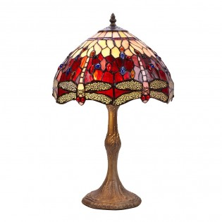 Lámpara de sobremesa Tiffany Belle Rouge II